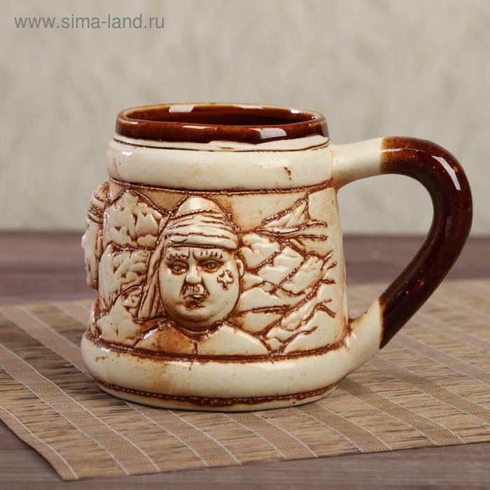 "Кружка для пива ""Кавказ"" 0,5 л"