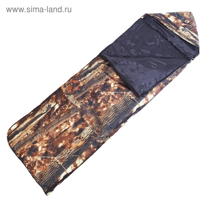 """Спальный мешок """"Эко"""", КМФ, 4-х слойный"""