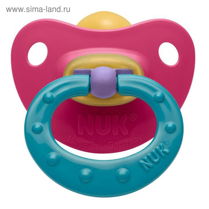 Соска-пустышка латексная ортодонтическая Classic Soft, от 0 до 6 мес., цвета МИКС