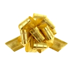 Бант-шар №5 полоса, золотой