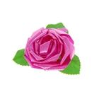 Бант-роза №6 малиновый