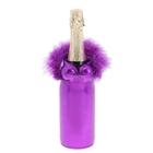 """Одежда на бутылку """"Жгучая красавица"""", цвет фиолетовый"""