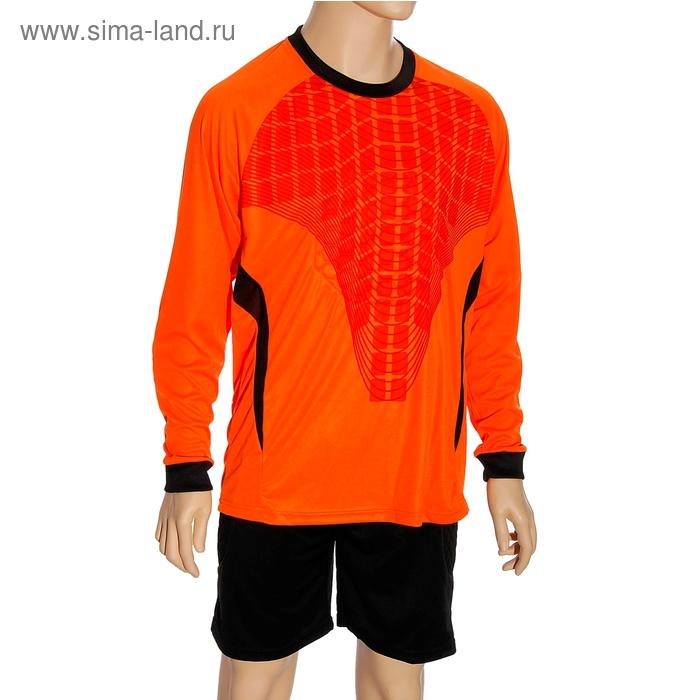 Форма футбольная вратаря р. 2ХL, рост 170-175 см, цвет черный-оранжевый