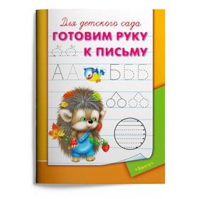Раскраска-пропись для детского сада «Готовим руку к письму»
