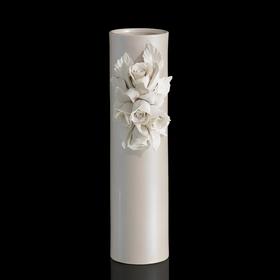 Ваза Beige Rose Stretto, кремовая