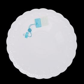 Блюдо для торта Dolci, белое