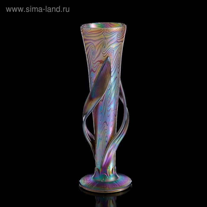 "Ваза интерьерная ""Iris Leaf Glass"""