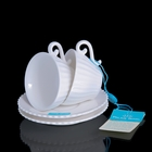 Набор: 2 кофейные пары Confetteria, белый, 80 мл - фото 308063162