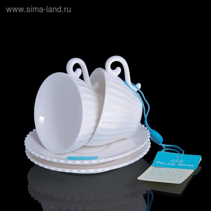 Набор: 2 кофейные пары Confetteria, белый, 80 мл