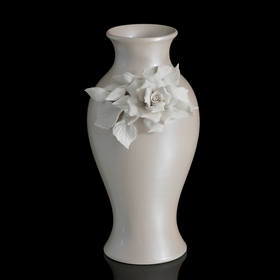 Ваза Beige Rose Snello, кремовая