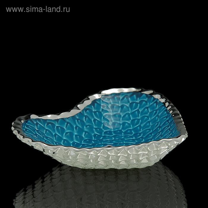 "Чаша ""Сердце"", голубая"