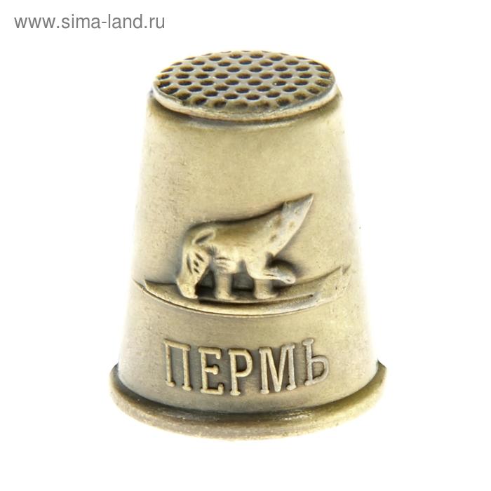 """Наперсток сувенирный """"Пермь"""""""