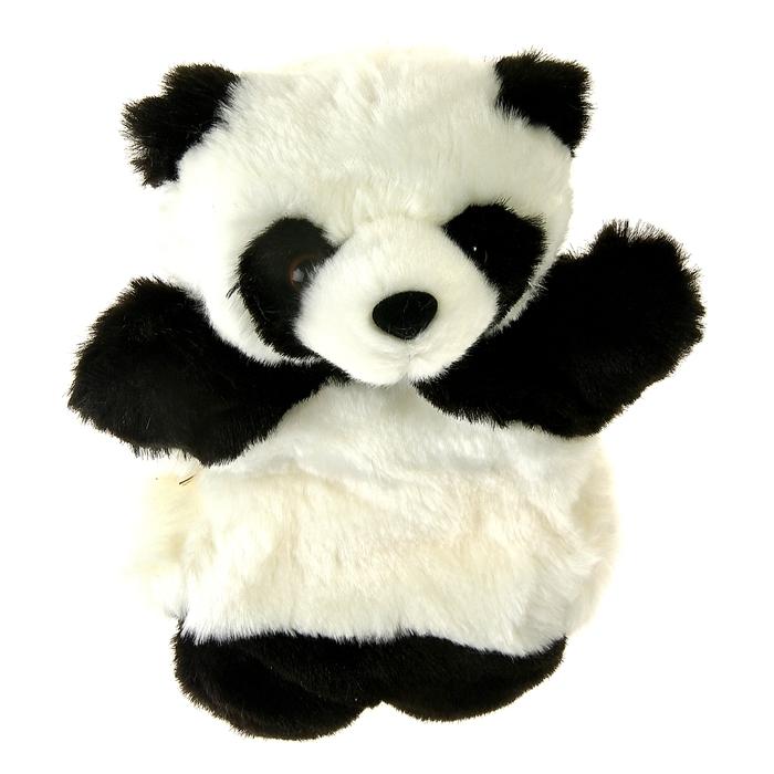 """Мягкая игрушка на руку """"Панда"""", цвет чёрно-белый"""