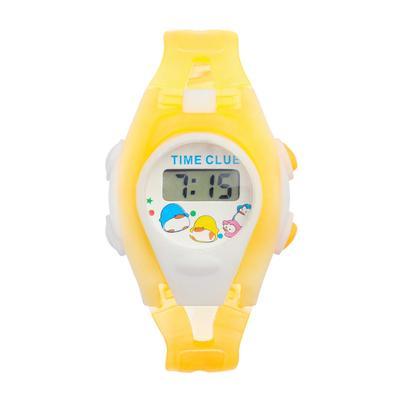 Часы наручные электронные «Забава», детские, силиконовый ремешок, прозрачный, микс