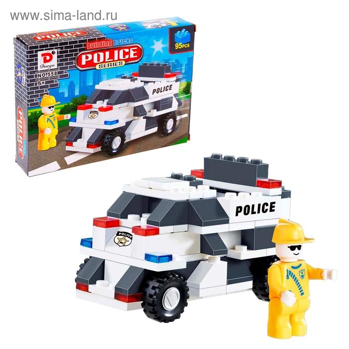 """Конструктор """"Полицейский патруль"""", 95 деталей"""
