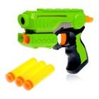 "Pistol ""marksman"" shoots soft bullets, MIX colors"