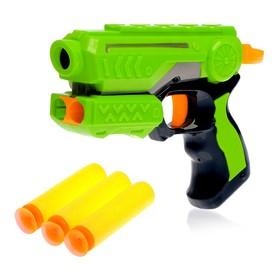 Пистолет «Меткий стрелок», стреляет мягкими пулями, цвета МИКС Ош
