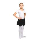 Юбка-солнце гимнастическая, размер 34, цвет чёрный