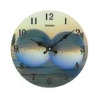 """Часы настенные из стекла """"Отражение"""""""