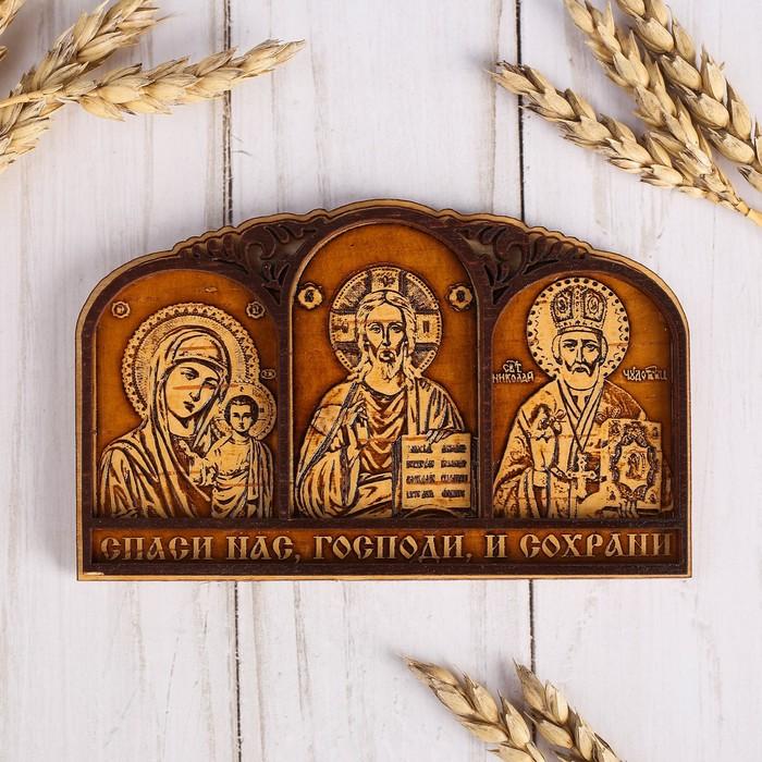 Триптих «Молитва Водителя», 3 иконы