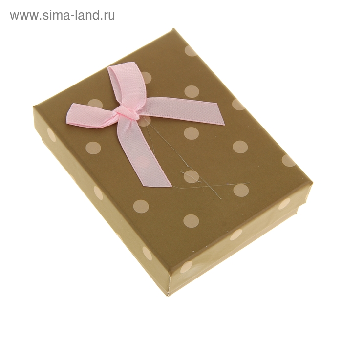 """Коробка подарочная """"Идеал"""", цвет бежевый"""