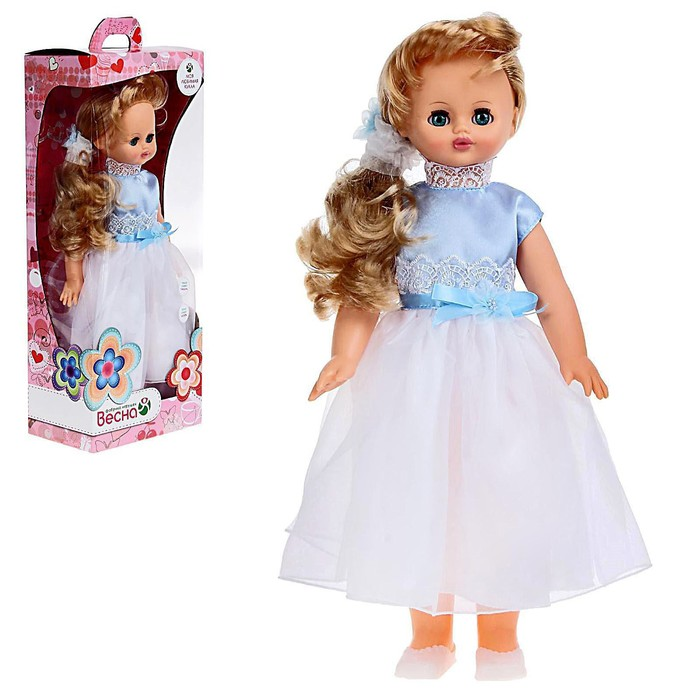 Кукла «Алиса 16» со звуковым устройством, МИКС - фото 1581789