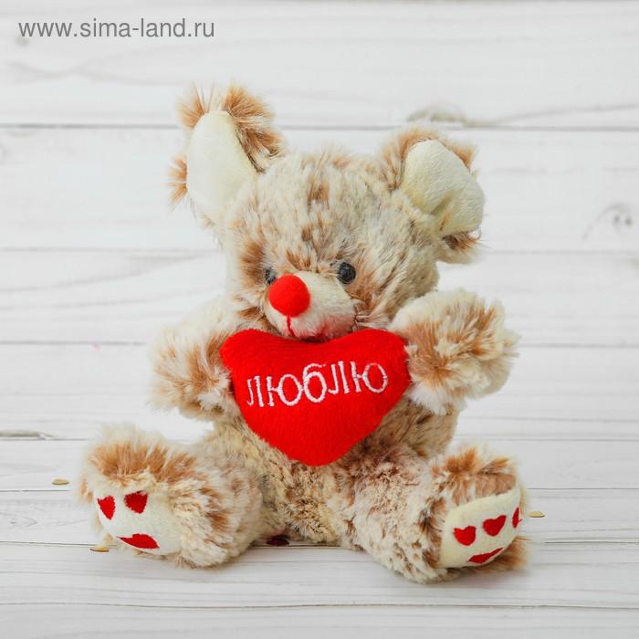 """Мягкая игрушка-присоска """"Зоопарк сердцем"""" на лапках сердечки, виды МИКС"""