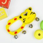 Игрушка музыкальная погремушка «Весёлый зоопарк», МИКС - фото 105637944