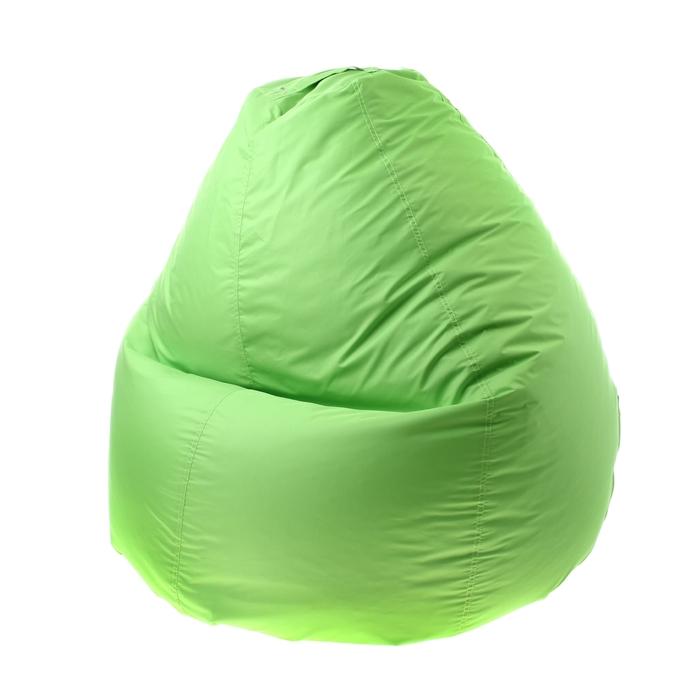 Кресло-мешок универсальный, d90/h120, цвет светло-салатовый