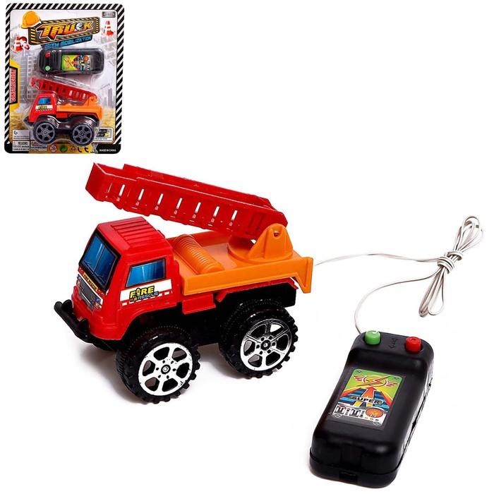 Машина «Стройтехника», на дистанционном управлении, работает от батареек, МИКС - фото 105648960