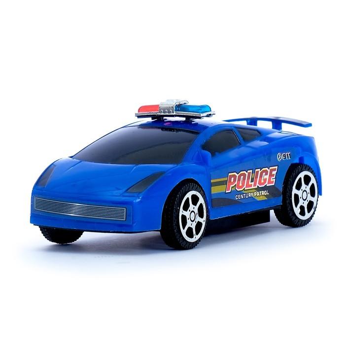 Машина «Полицейский болид», цвета МИКС - фото 76293278