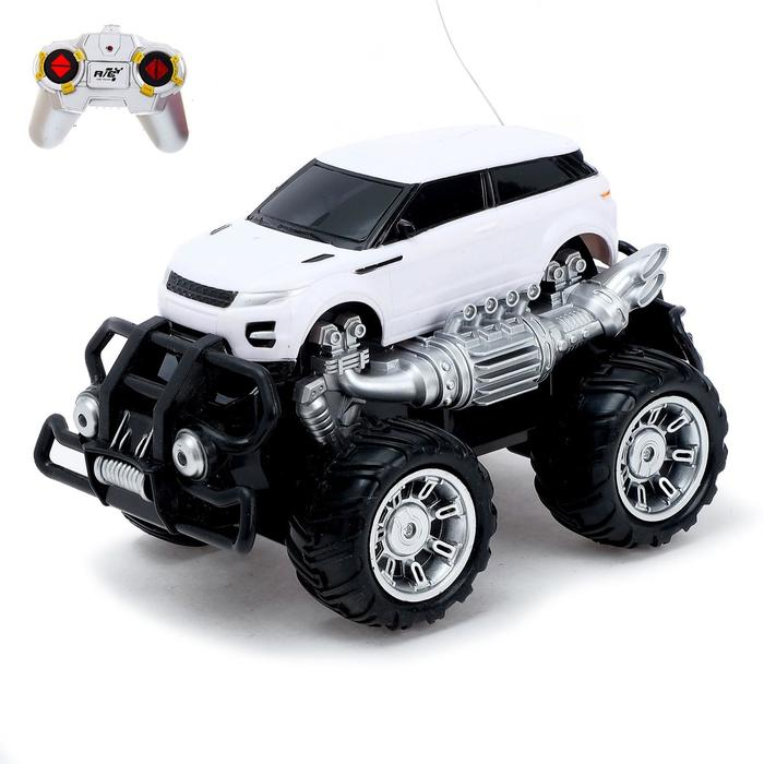 Машина радиоуправляемая «Внедорожник», работает от аккумулятора, световые эффекты, цвета МИКС - фото 106534246