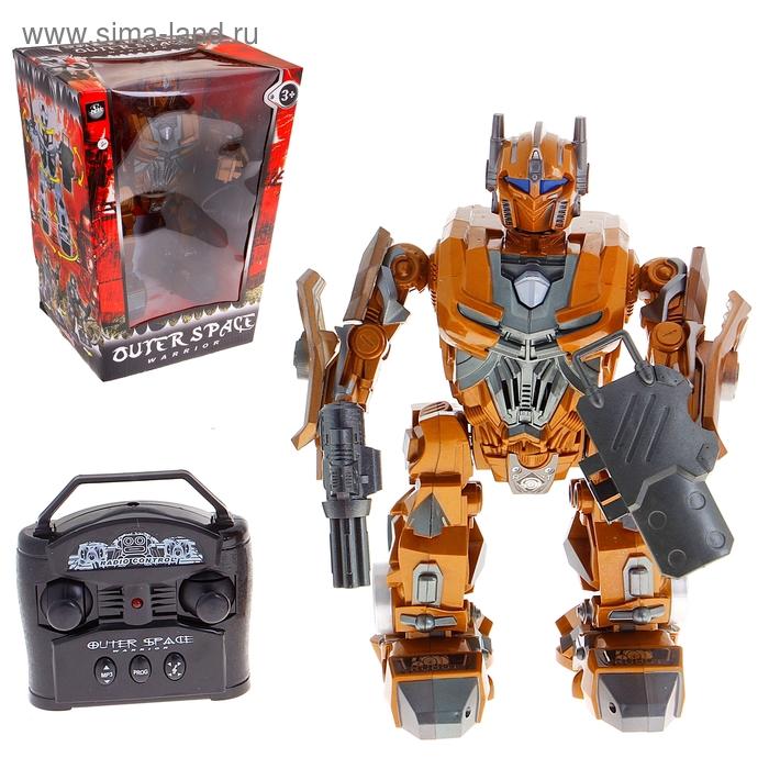"""Робот радиоуправляемый """"Космический защитник"""", работает от батареек, звуковые эффекты"""