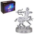 """Пазл 3D кристаллический, """"Знак зодиака Стрелец"""", 40 деталей, световые эффекты, работает от батареек"""