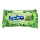 Салфетки влажные «SuperFresh» Fruit, 15 шт