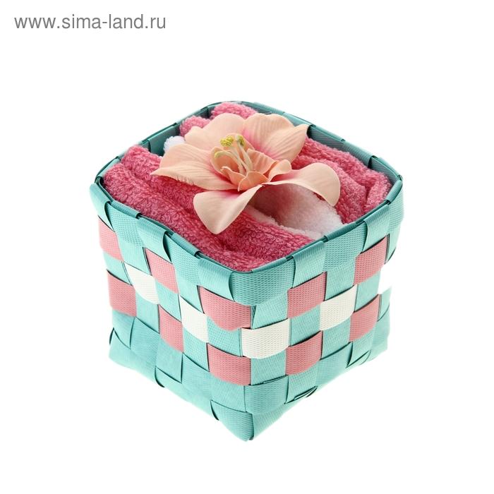 "Набор полотенец ""Collorista"" Orchid pink 30 х 30см - 3 шт."