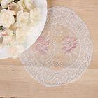 Набор салфеток круг Райский сад, диаметр 20 см - 2 шт.