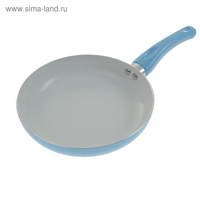 """Сковорода с керамическим покрытием 24 см """"Голубая мечта"""""""