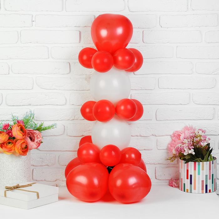 """Набор шаров для моделирования """"Стойка"""", сердце"""