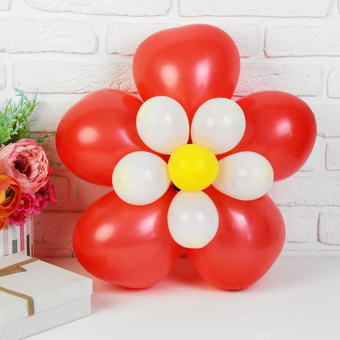 """Набор шаров для моделирования """"Цветок"""", сердце"""