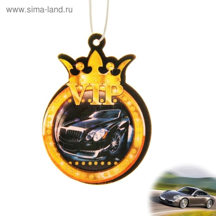Ароматизатор для авто Luazon Car Aroma VIP, аромат новой машины
