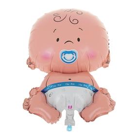 Шар фольгированный 'Младенец ' 30' мальчик Ош
