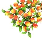 Связка искусственных яблок (5 шт.), микс