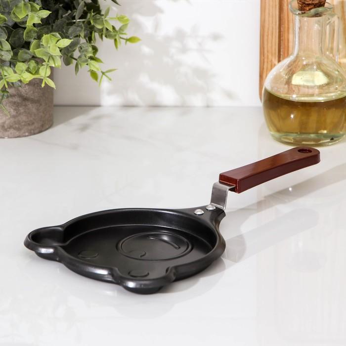 """Сковорода 14 см """"Мишка"""", антипригарное покрытие"""