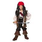 Детский карнавальный костюм «Капитан Джек Воробей», бархат, размер 40, рост 158 см - фото 105520340