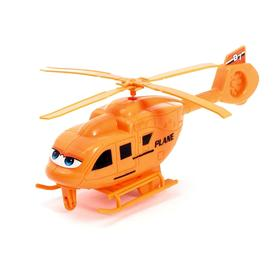 Вертолёт заводной «Глазастик», цвета МИКС