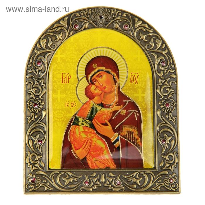 """Икона """"Владимирская икона Божией Матери """" на подставке"""