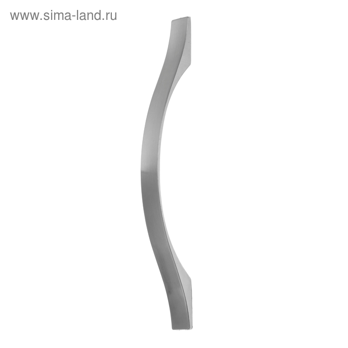 "Ручка мебельная (арт.404) 128 мм, цвет ""сатин"""