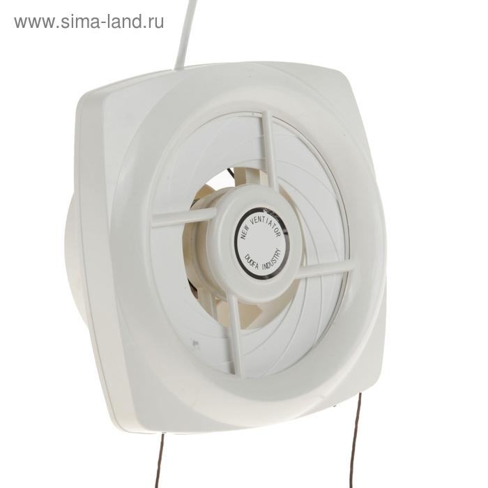 Вентилятор осевой d150 mm, (220 В, 20 Вт, 144 м3/ч, 34 Ра ) с сетевым кабелем