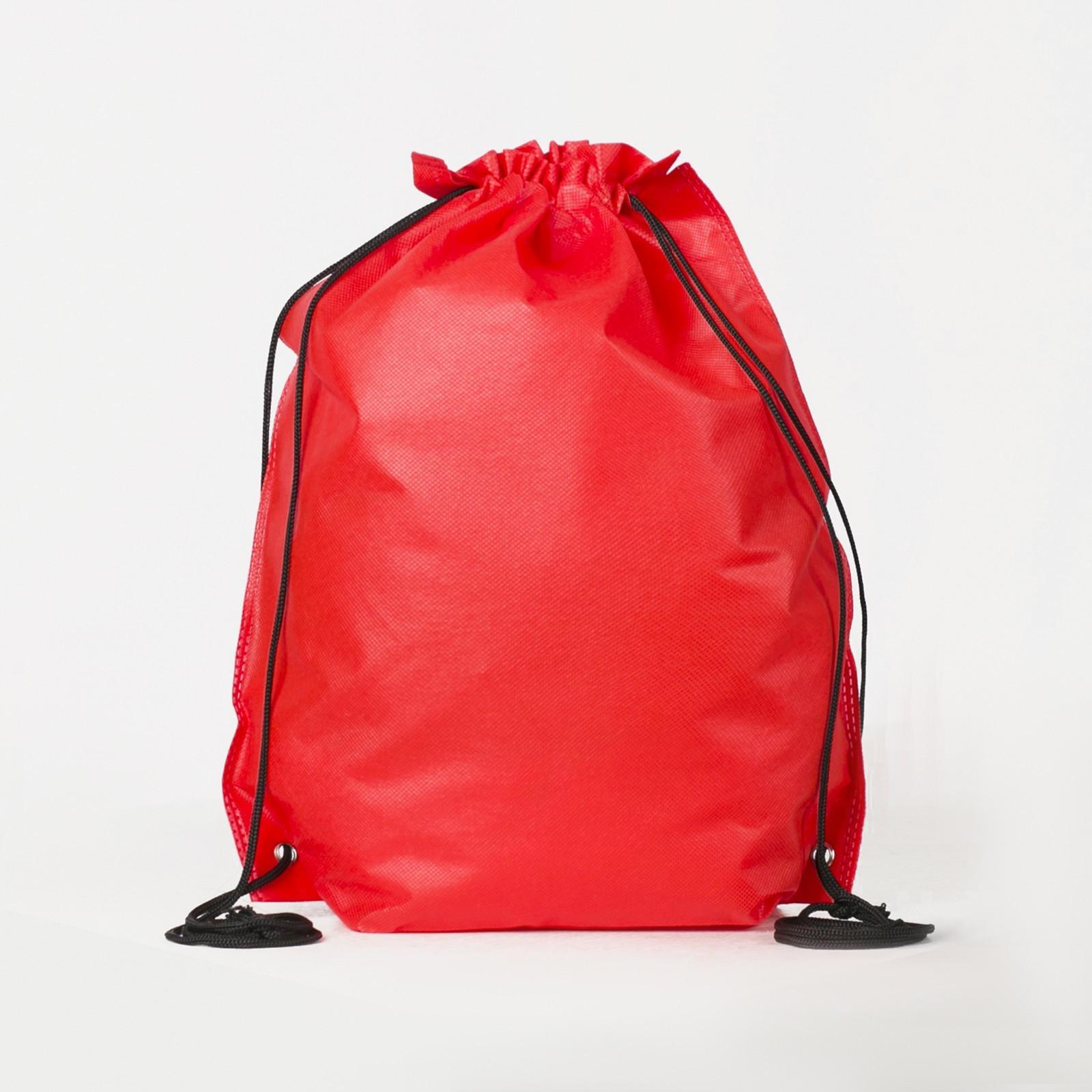 3a7b0f367618 Мешок для обуви, отдел на шнурке, цвет красный (169314) - Купить по ...